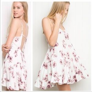 Brandy Melville Jada Floral Dress